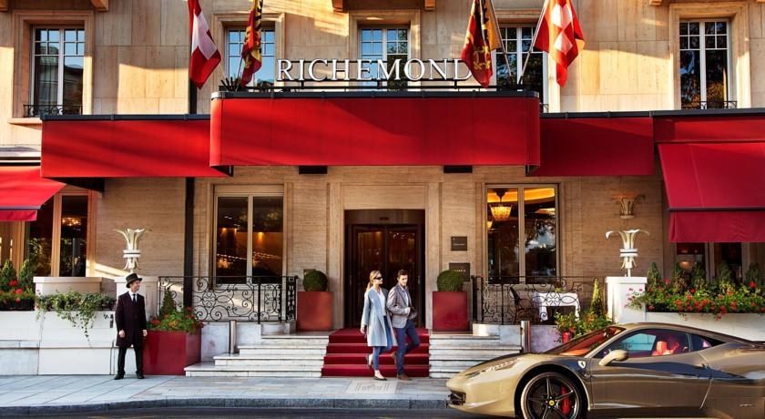 ''Le Richemond'' in Geneva Switzerland
