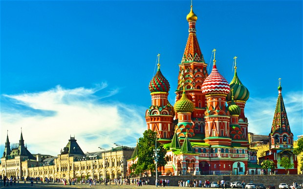 Russia - Most Visited Countries