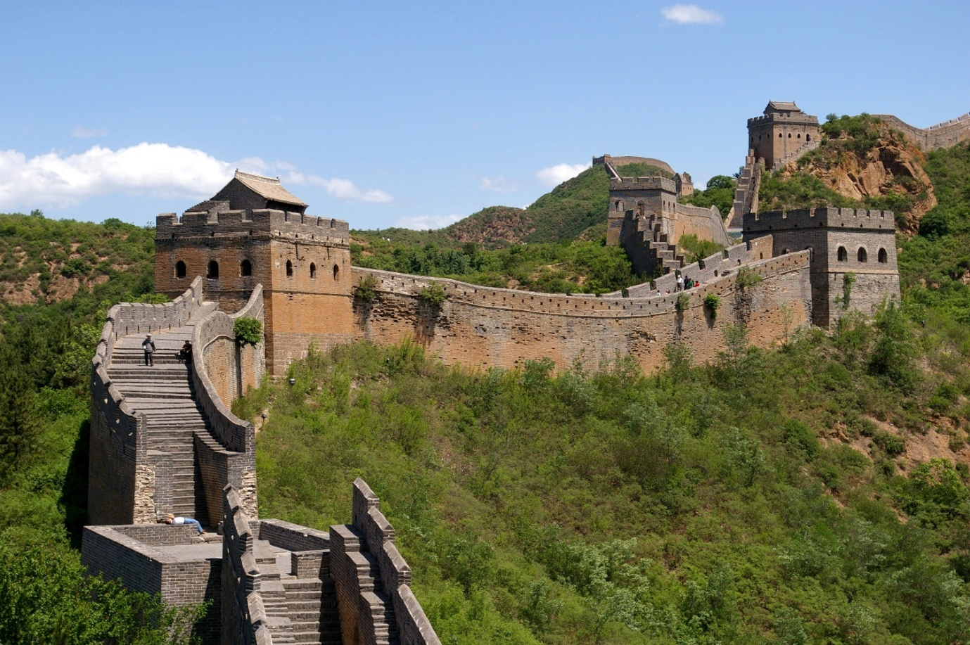 The Great Wall China - Most Visited Countries