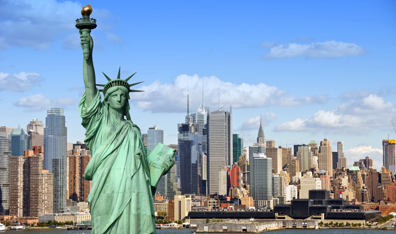 New York USA - Most Visited Countries