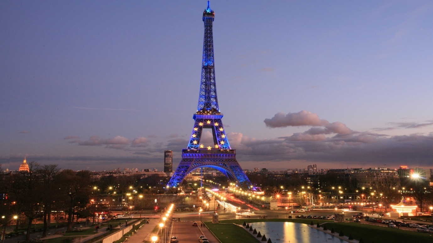 Paris France - Most visited Countries