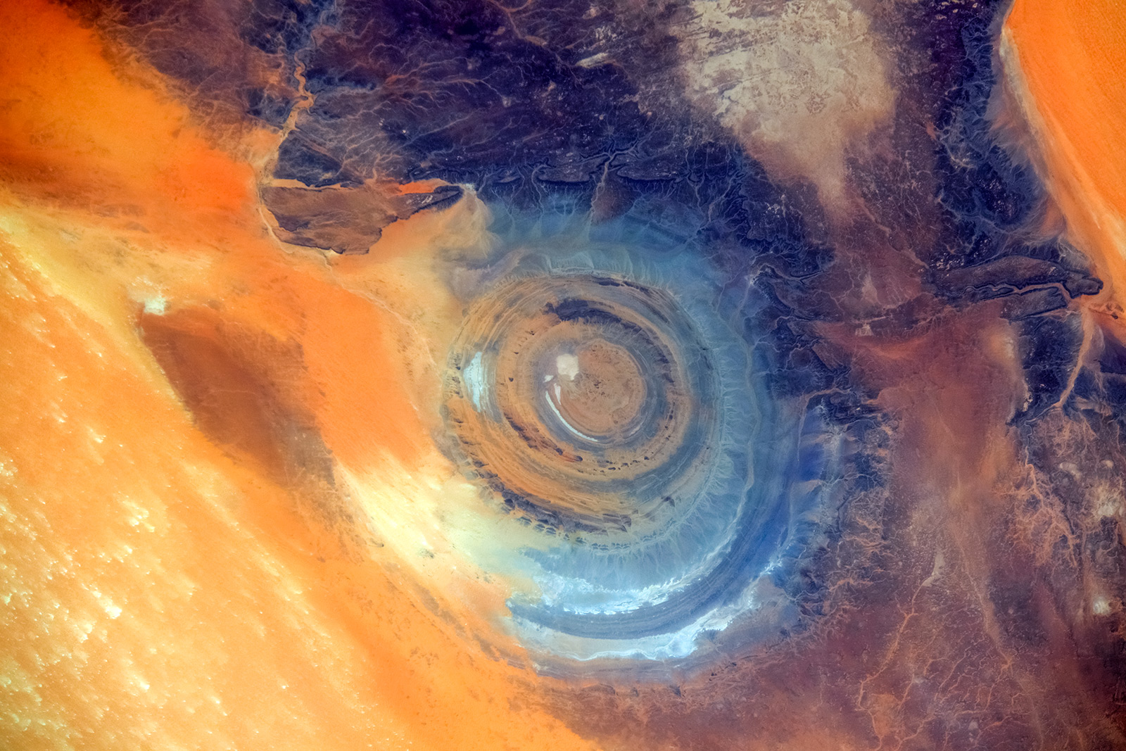 1 Eye of Sahara ,Africa