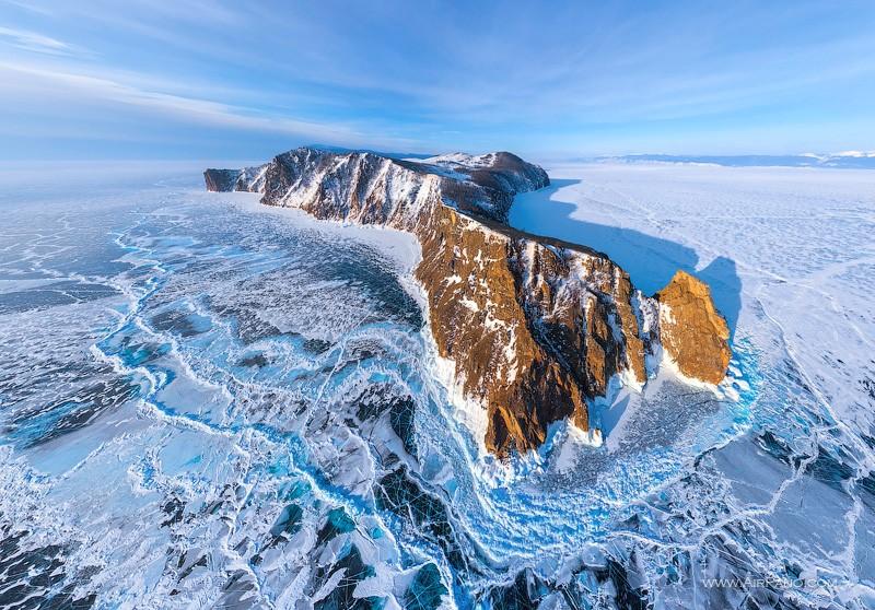 1 Turquoise Ice Lake Baikal