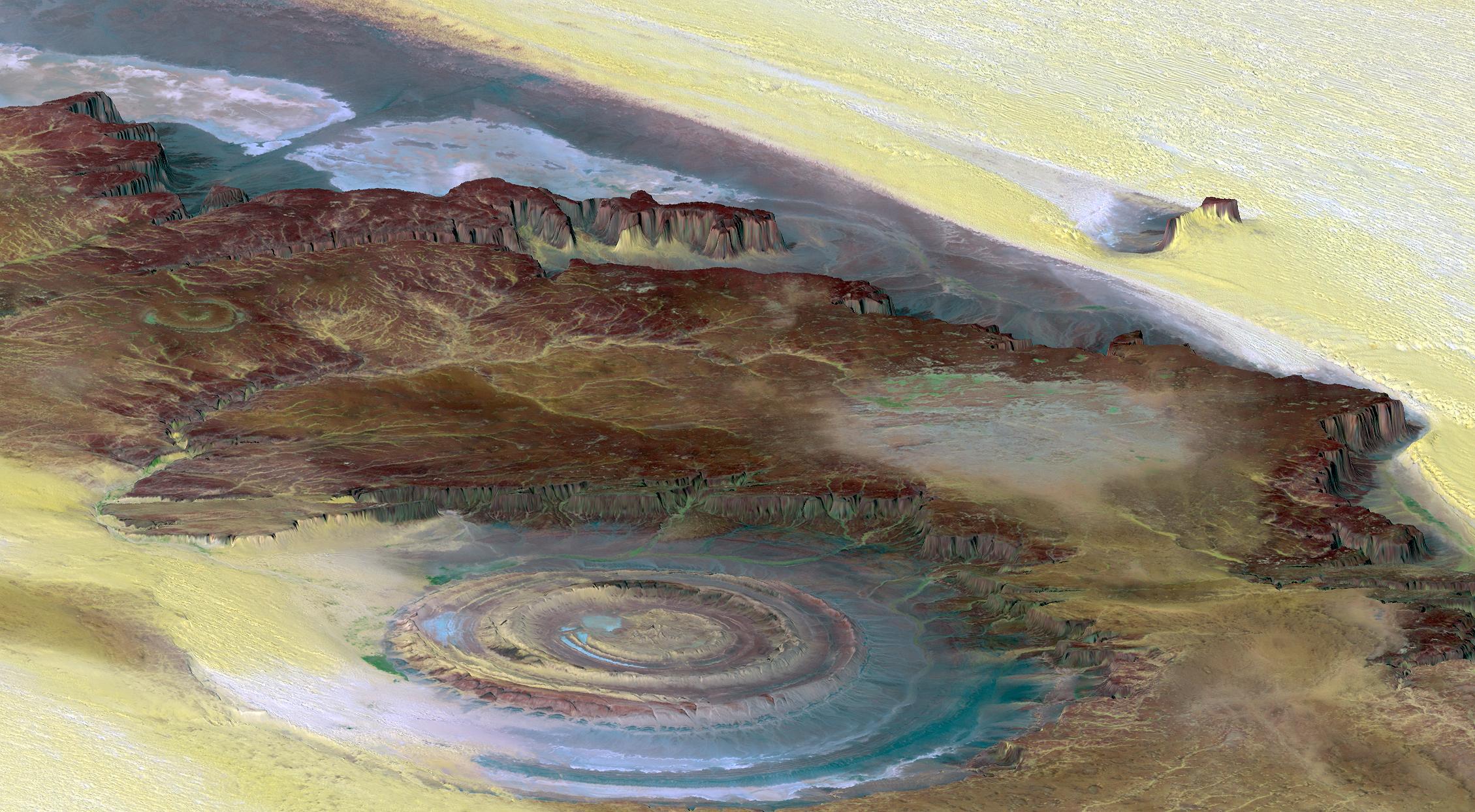2 Eye of Sahara ,Africa