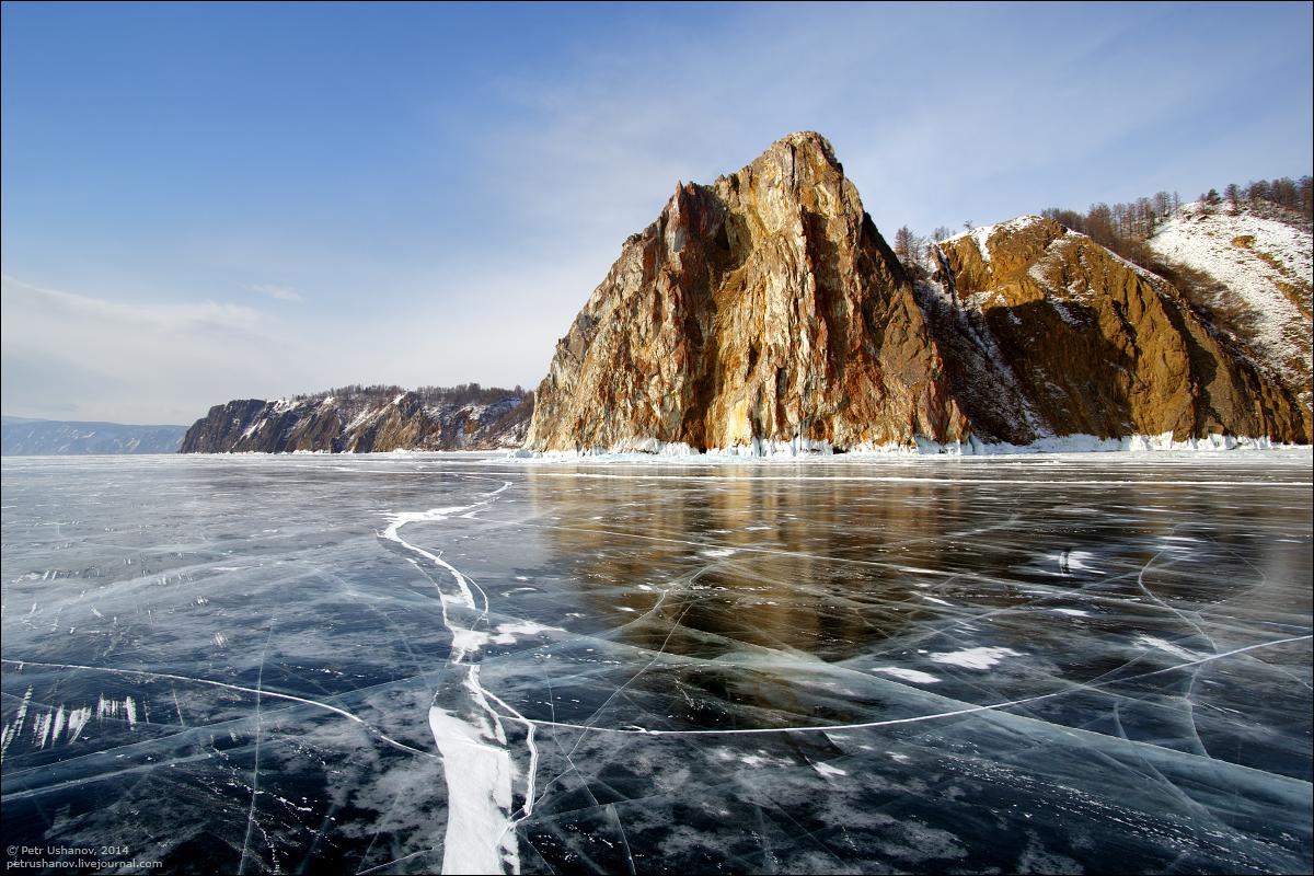 2 Turquoise Ice Lake Baikal