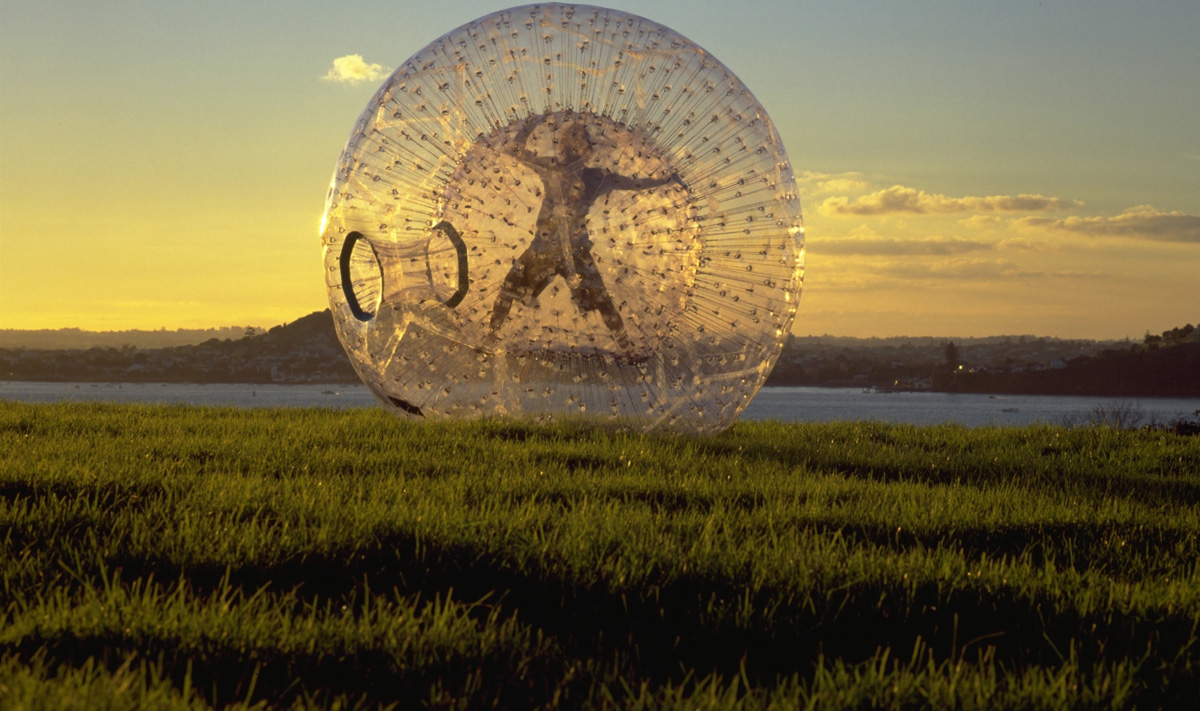 Extreme Sports - Zorbing orbing
