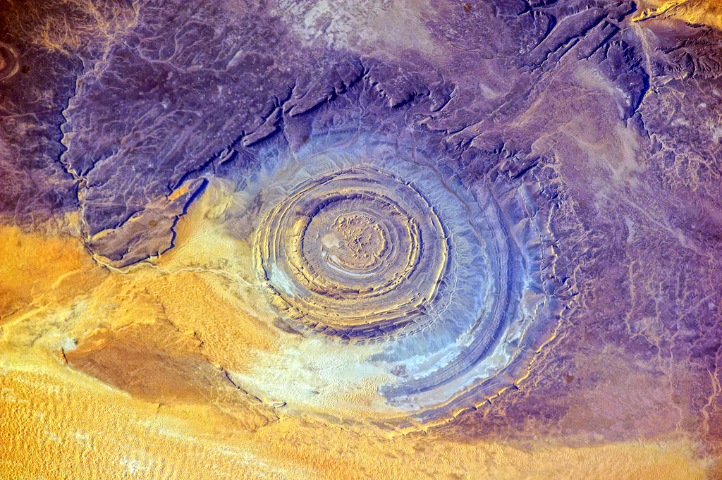 3 Eye of Sahara ,Africa