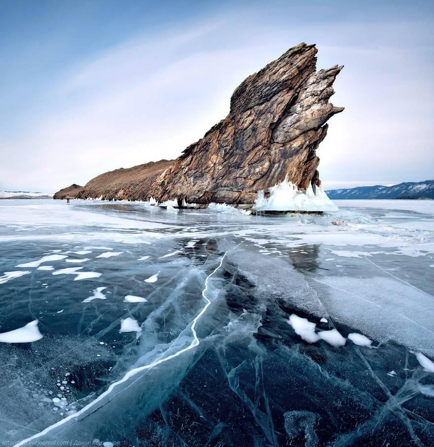 3 Turquoise Ice Lake Baikal