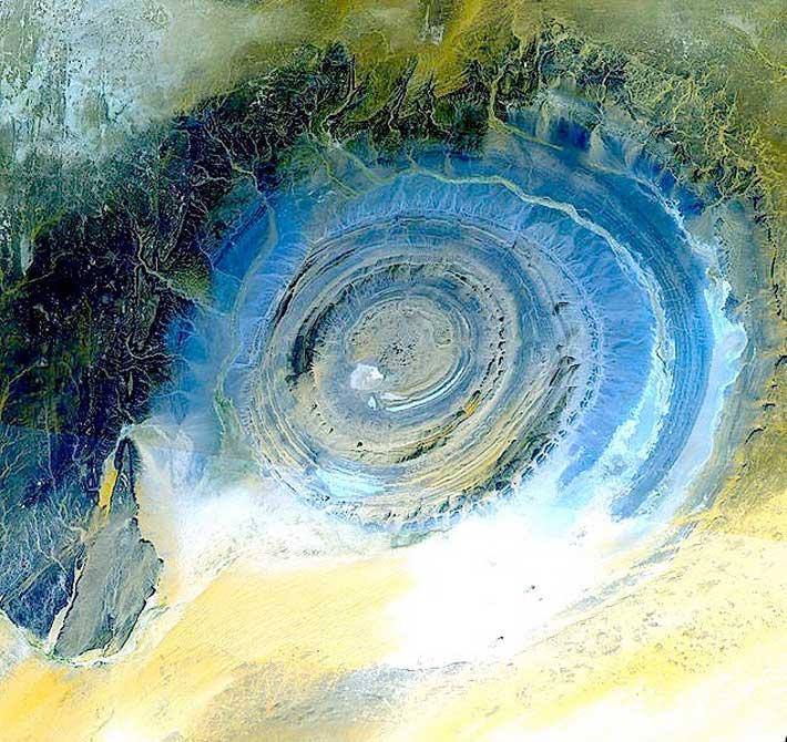 4 Eye of Sahara ,Africa