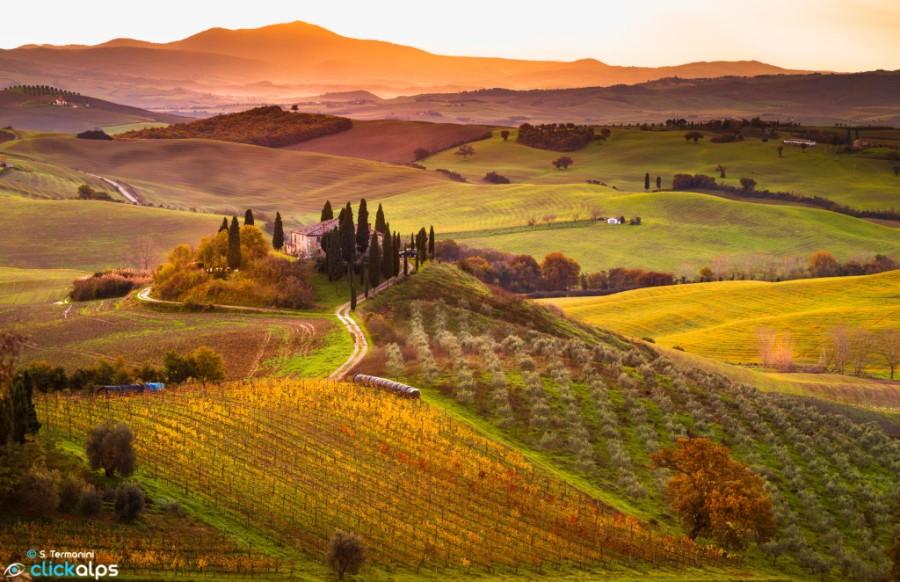 autumn - tuscany