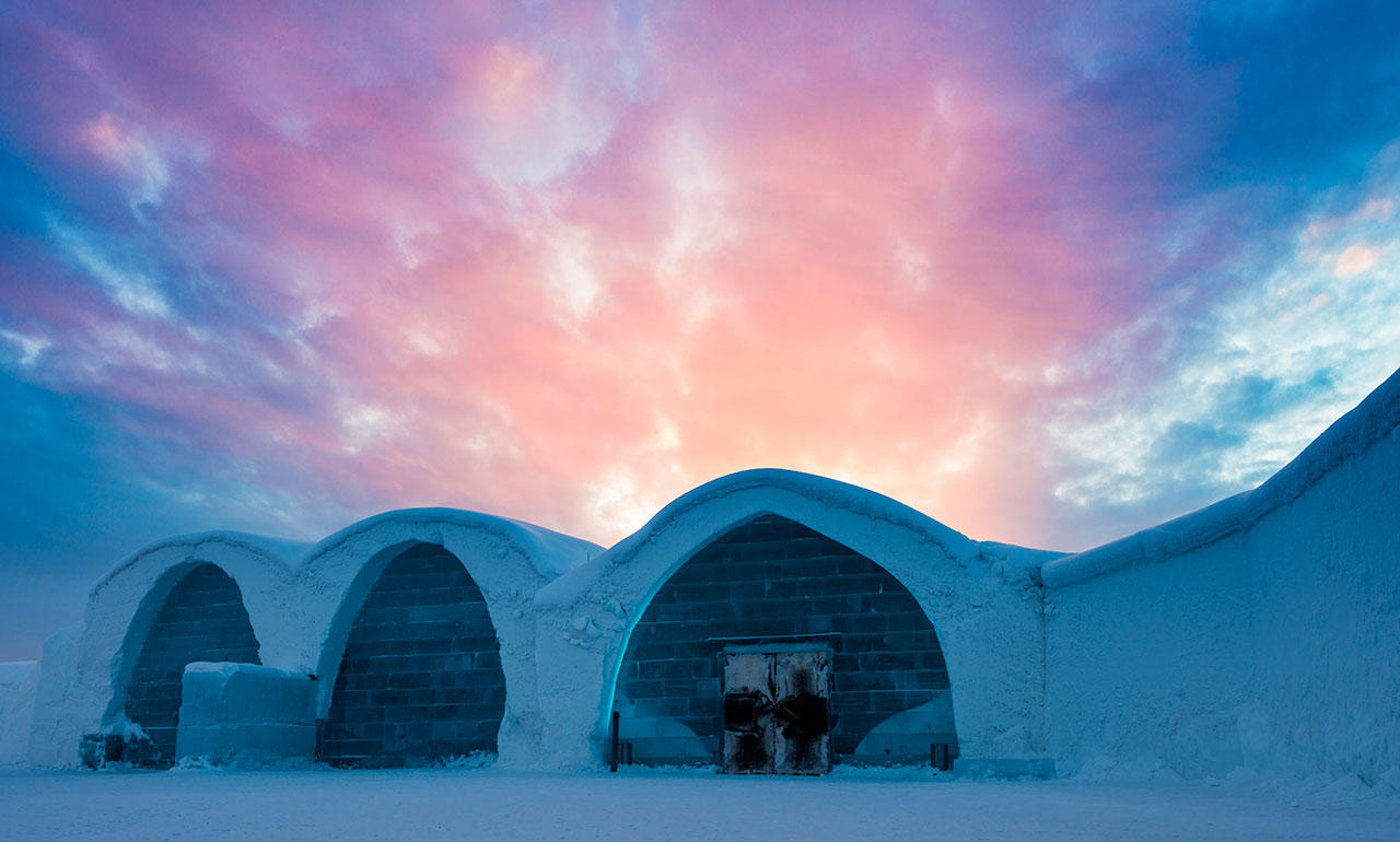 ICEHOTEL winter