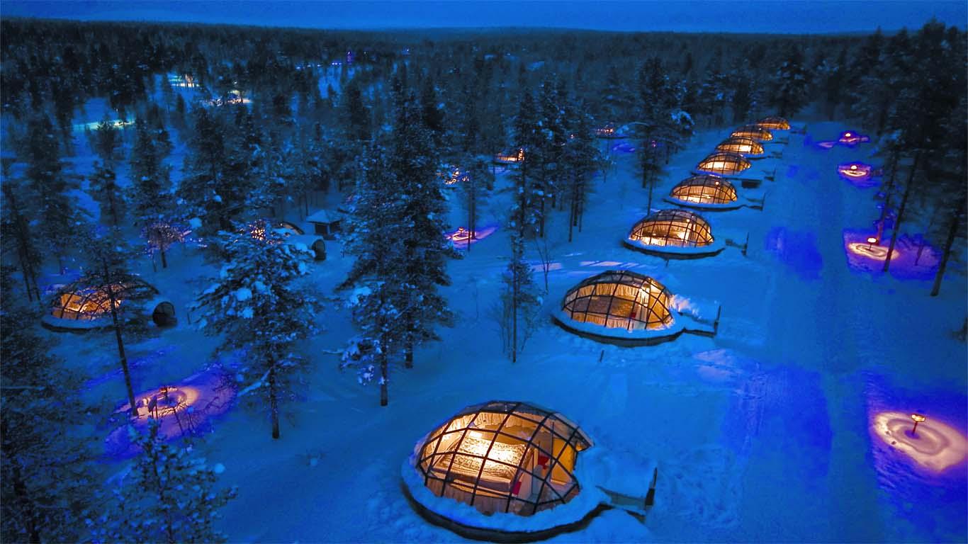Kakslauttanen Hotel, Saariselkä, Finland 1 (1)