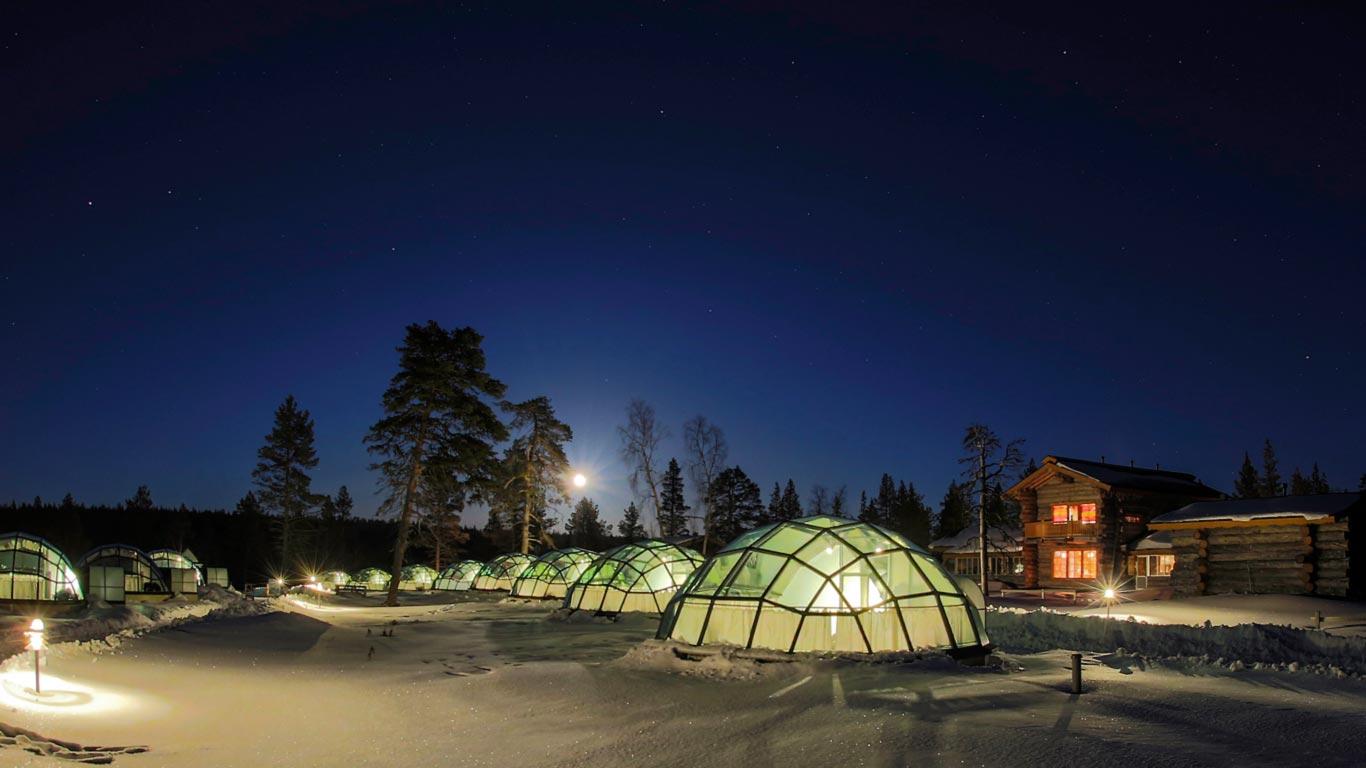 Kakslauttanen Hotel, Saariselkä, Finland 1 (4)