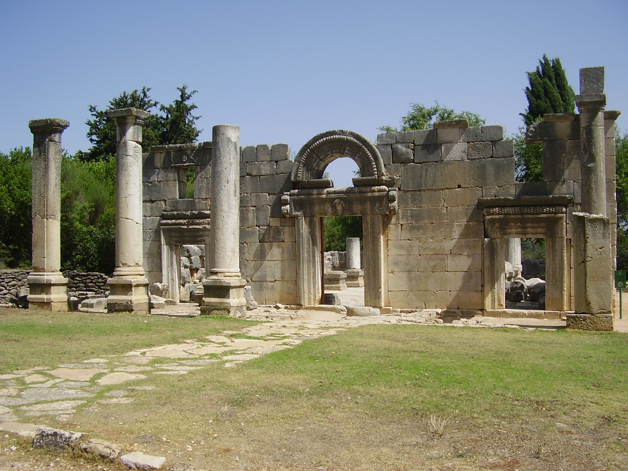 Ancient synagogue