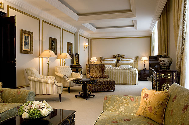 The Ritz-Carlton Hotel in Moscow,