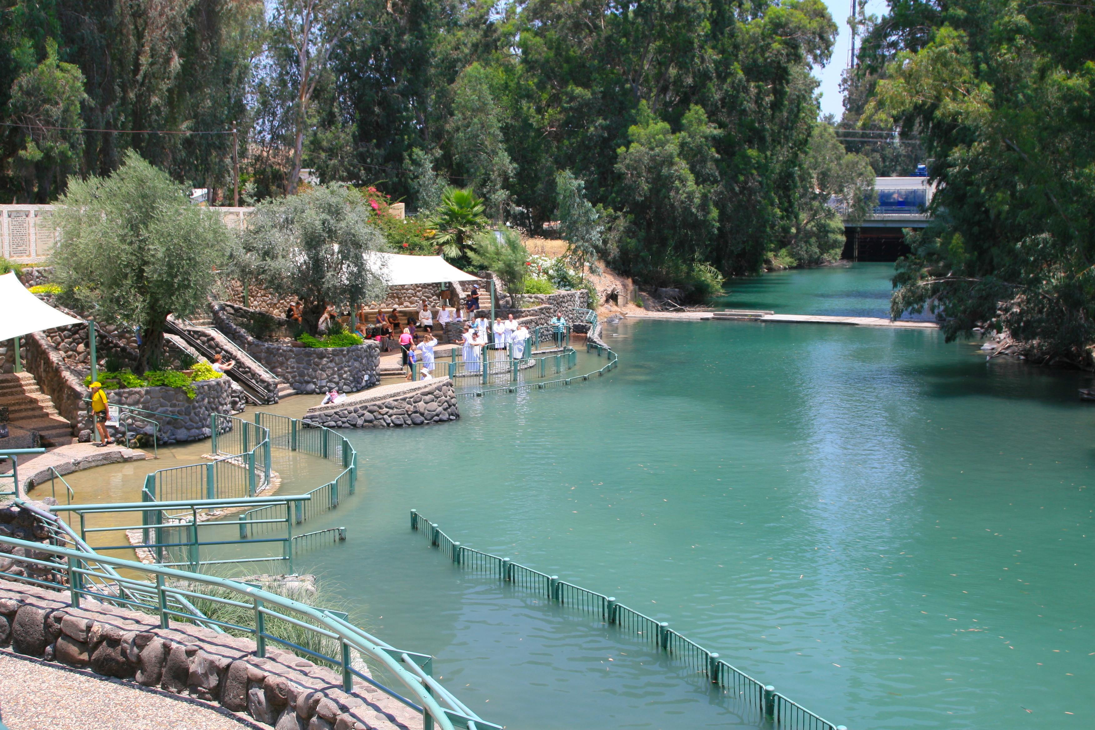 Baptismal site Jordan |river