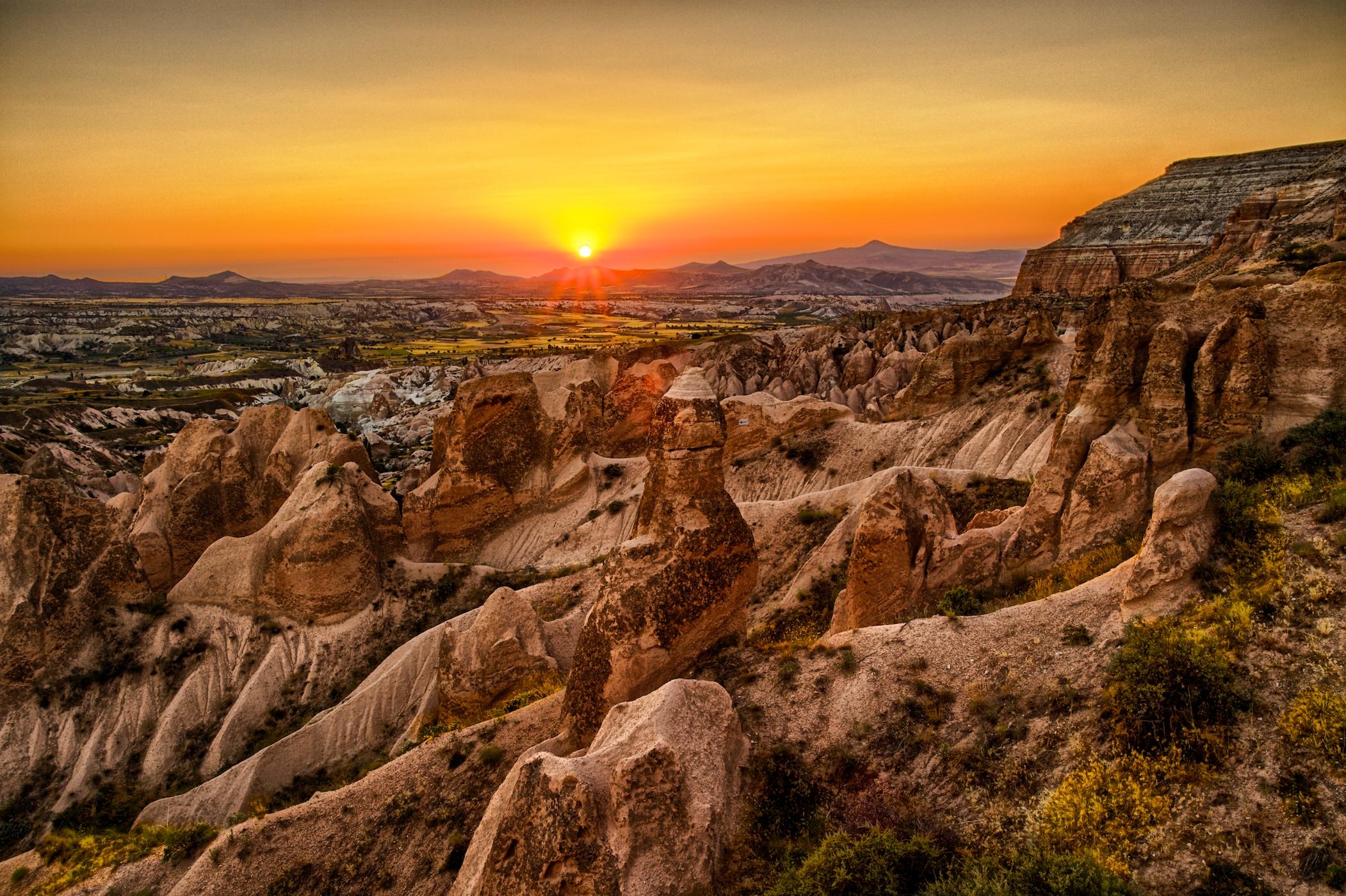 cappadocia-sunset