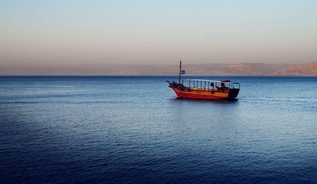 Kinneret boat