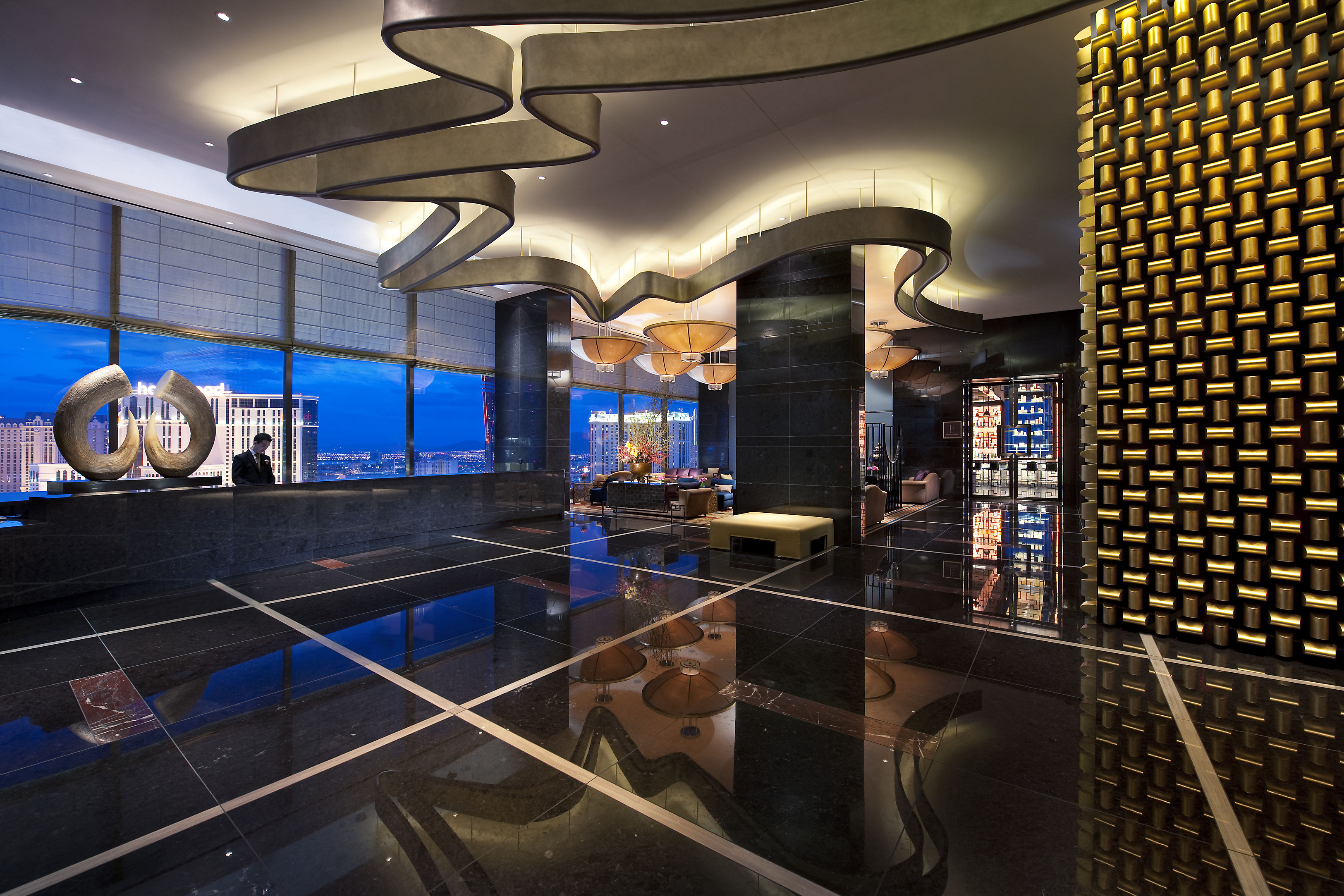 las-vegas-sky-lobby-views-dusk-1 Luxury hotel