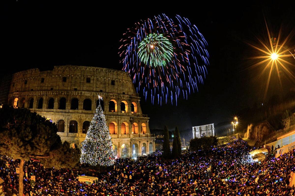 New Year Rome