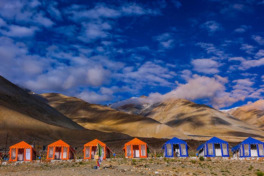 A tent camp