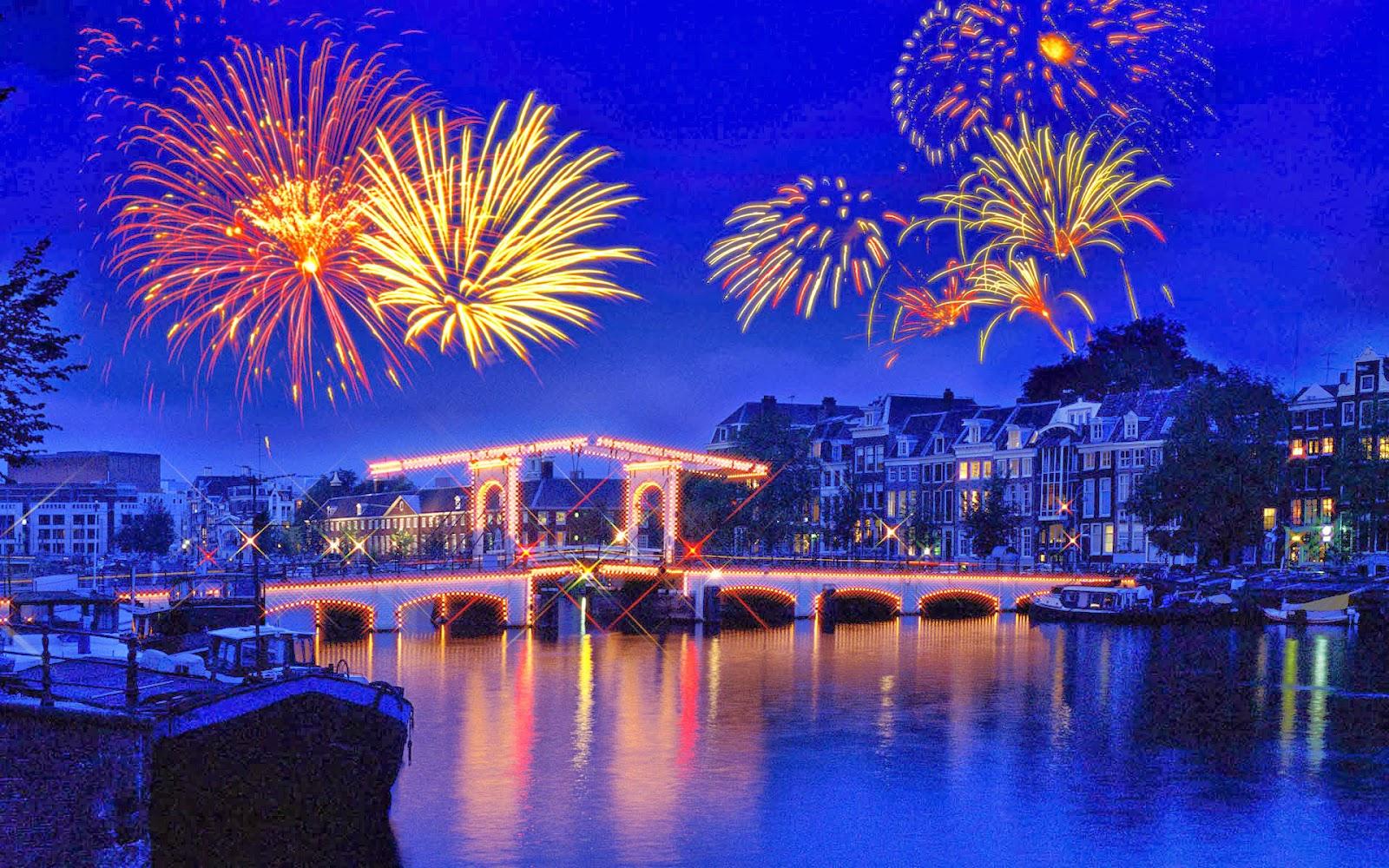 Fireworks Amsterdam