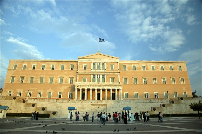 Syntagma square Athens, Greece