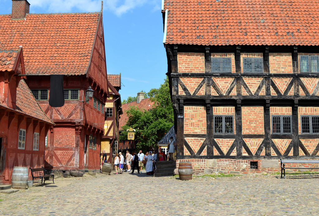 The-Old-Town-By-aarhus-denmark-folk-museum 2