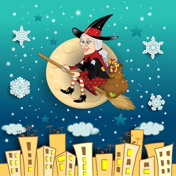 Befana, The Christmas Witch