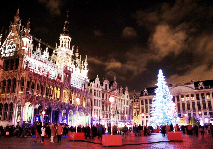 New Year in Brussels