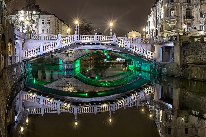 ljubljana-tromostovje Slovenia