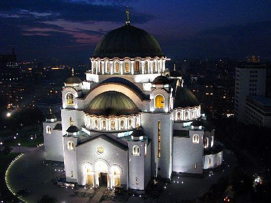st-sava-temple Belgrade - the white city