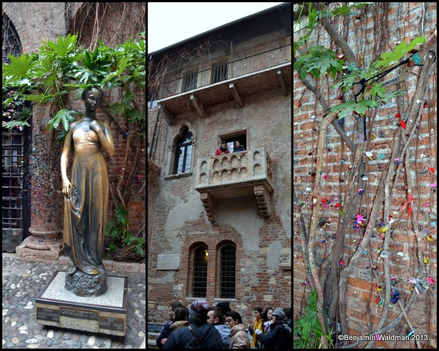 Romeo and Juliet's house