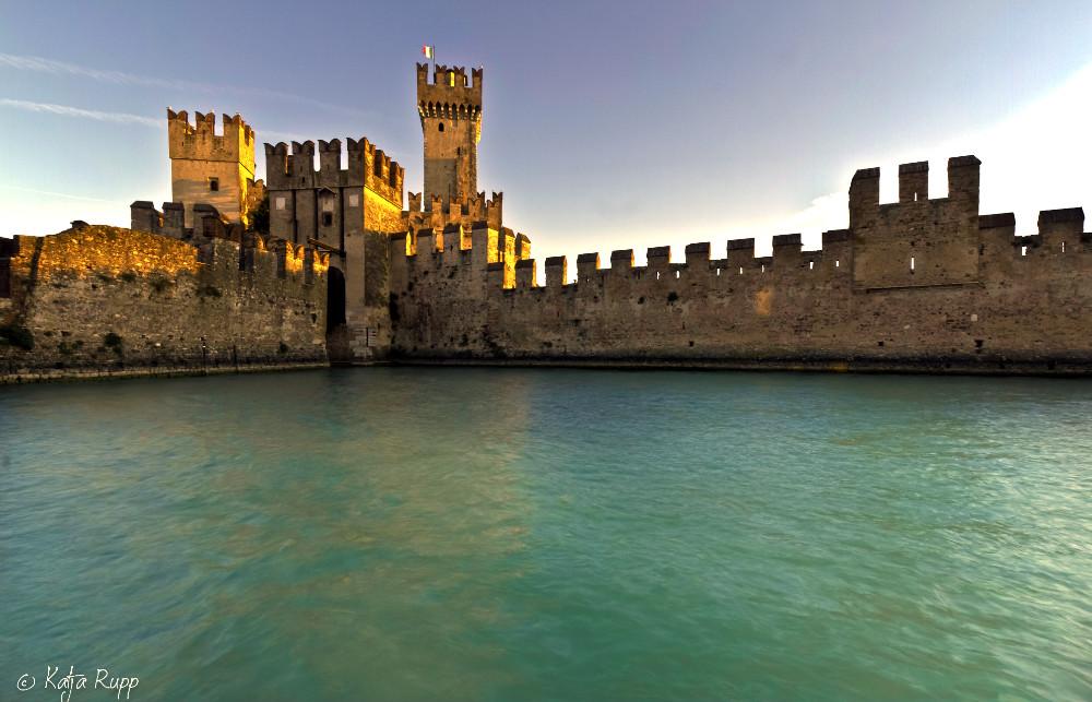 Scaliger Castle in Villafranca di Verona