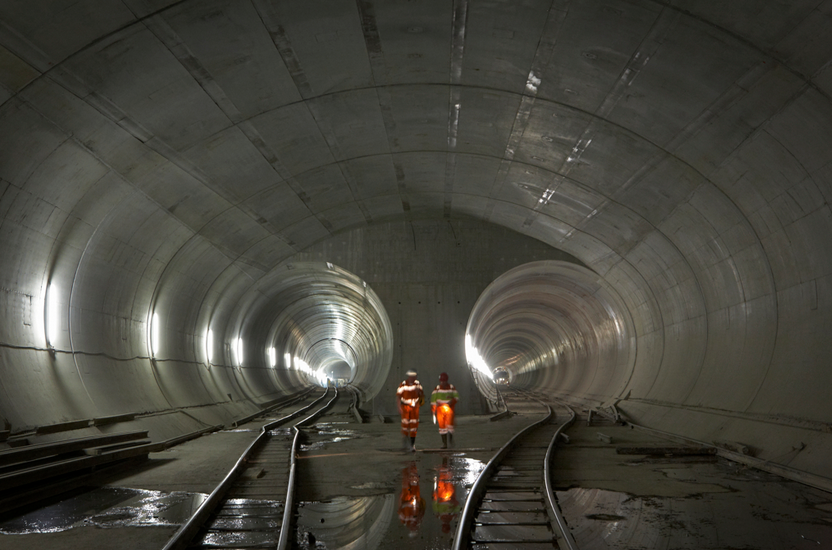 The Gotthard Base Tunnel