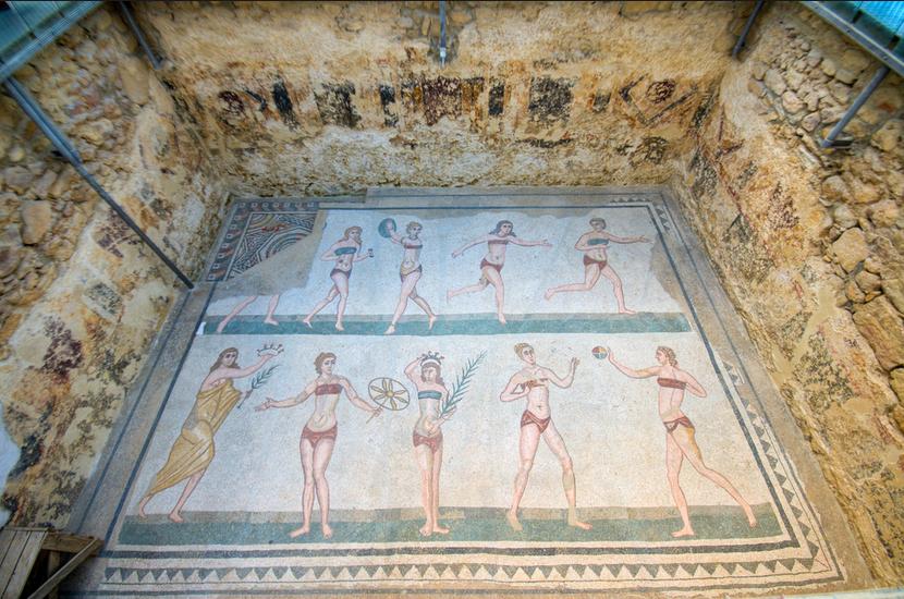 Villa Romana del Casale, Sicily