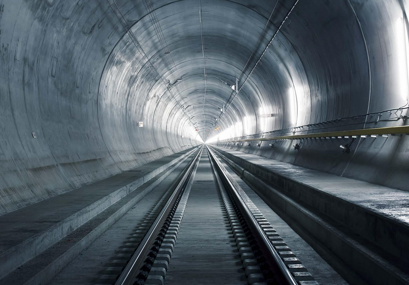 The Gotthard Base Tunnel