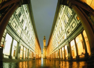 The Uffizi in Florence